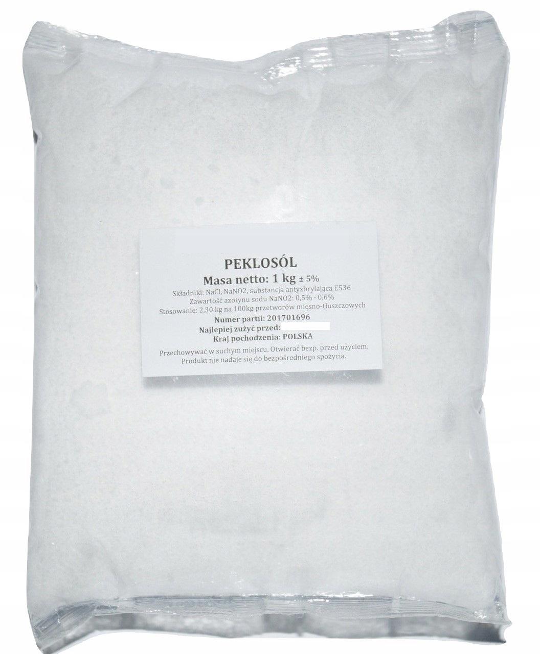 PECLOSAL 1 КГ вяленая соль