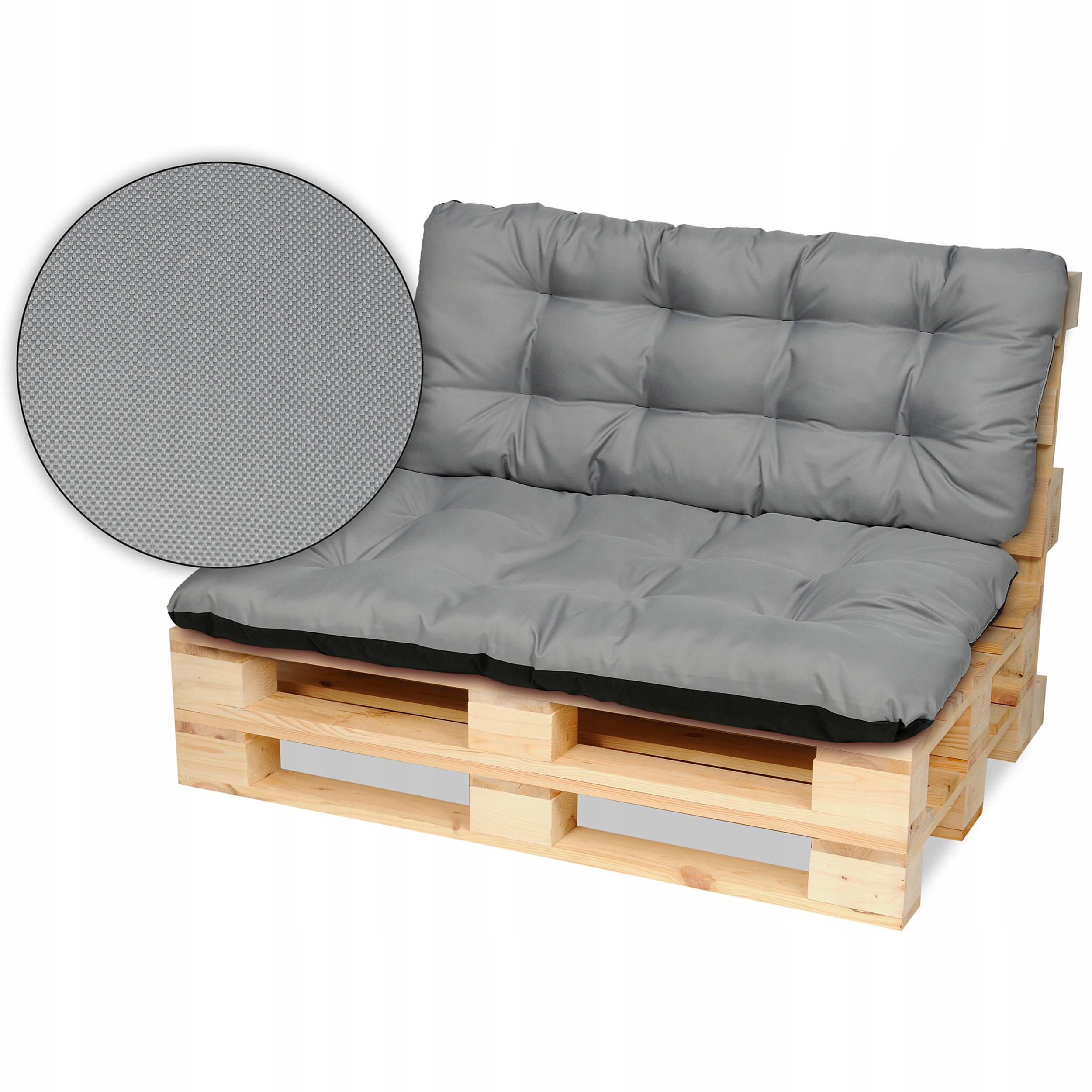 Подушки для поддонов мебельные, скамейка 120х80 + сталь 120х50