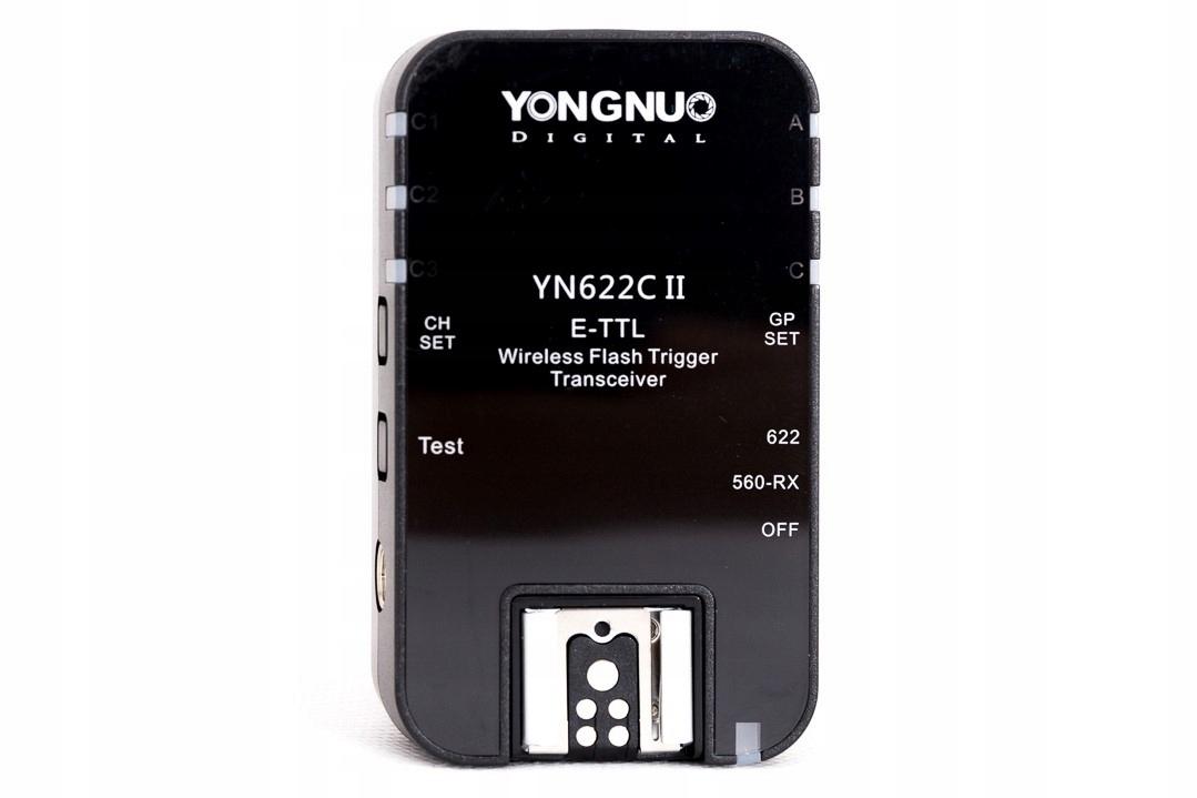Купить РАДИОСИНХРОНИЗАТОР Yongnuo YN622C II CANON ETTL НОВИНКА на Eurozakup - цены и фото - доставка из Польши и стран Европы в Украину.