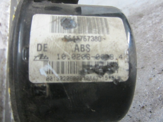 POMPA CONTROLLER ABS VW AUDI SEAT 10.0206-0008.4