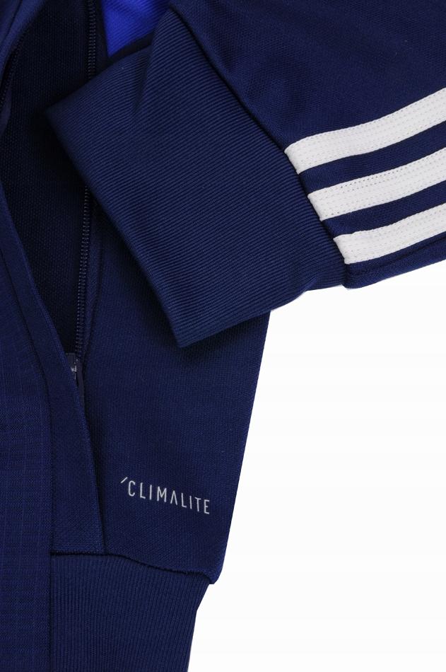 Adidas dres kompletny męski poliester spodnie bluza Tiro 19 Training DT5272 DT5174