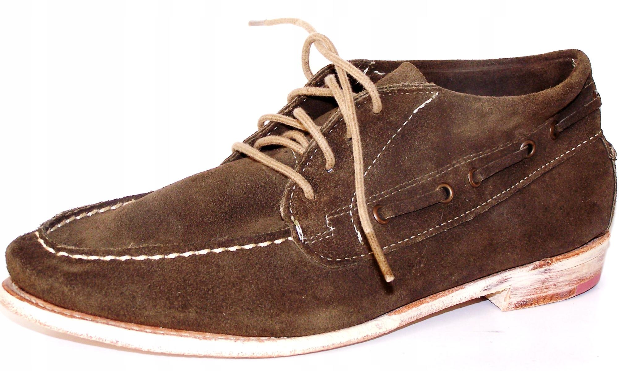 VINTAGE TOPÁNKY SPOLOČNOSTI kožené moccasin topánky hrúbka 39,5