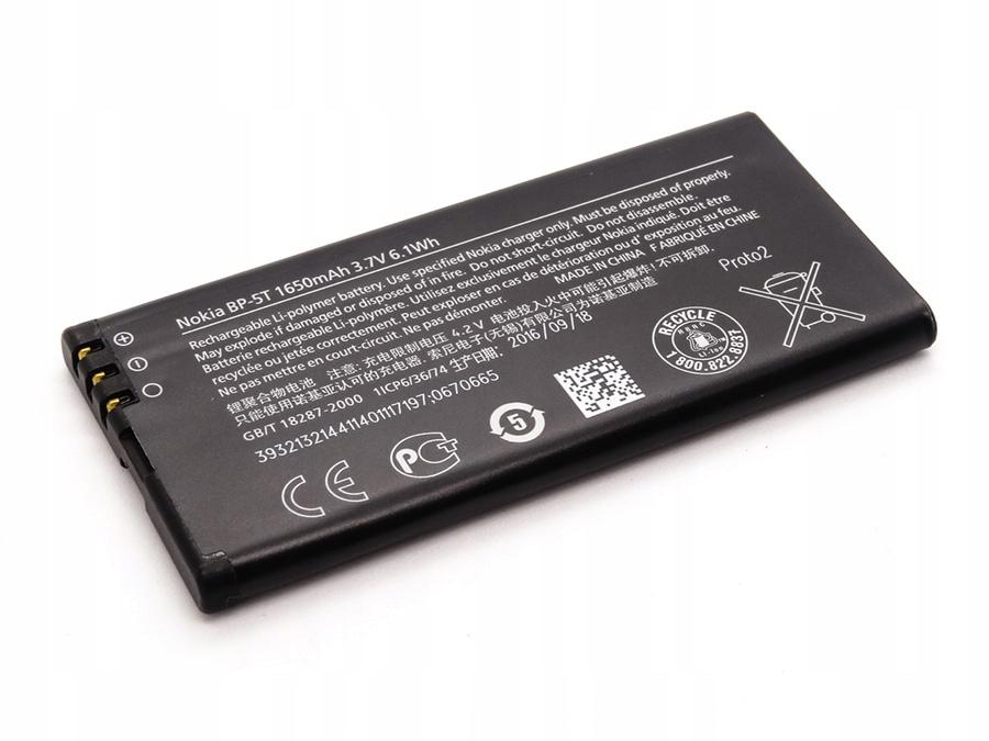 Bateria Nokia BP-5T 1650mAh | Nokia Lumia 820