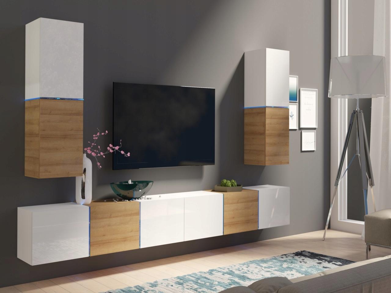 Купить Мебель СПАЛЬНЯ meblościanka domino UST 4 ГЛЯНЕЦ на Eurozakup - цены и фото - доставка из Польши и стран Европы в Украину.
