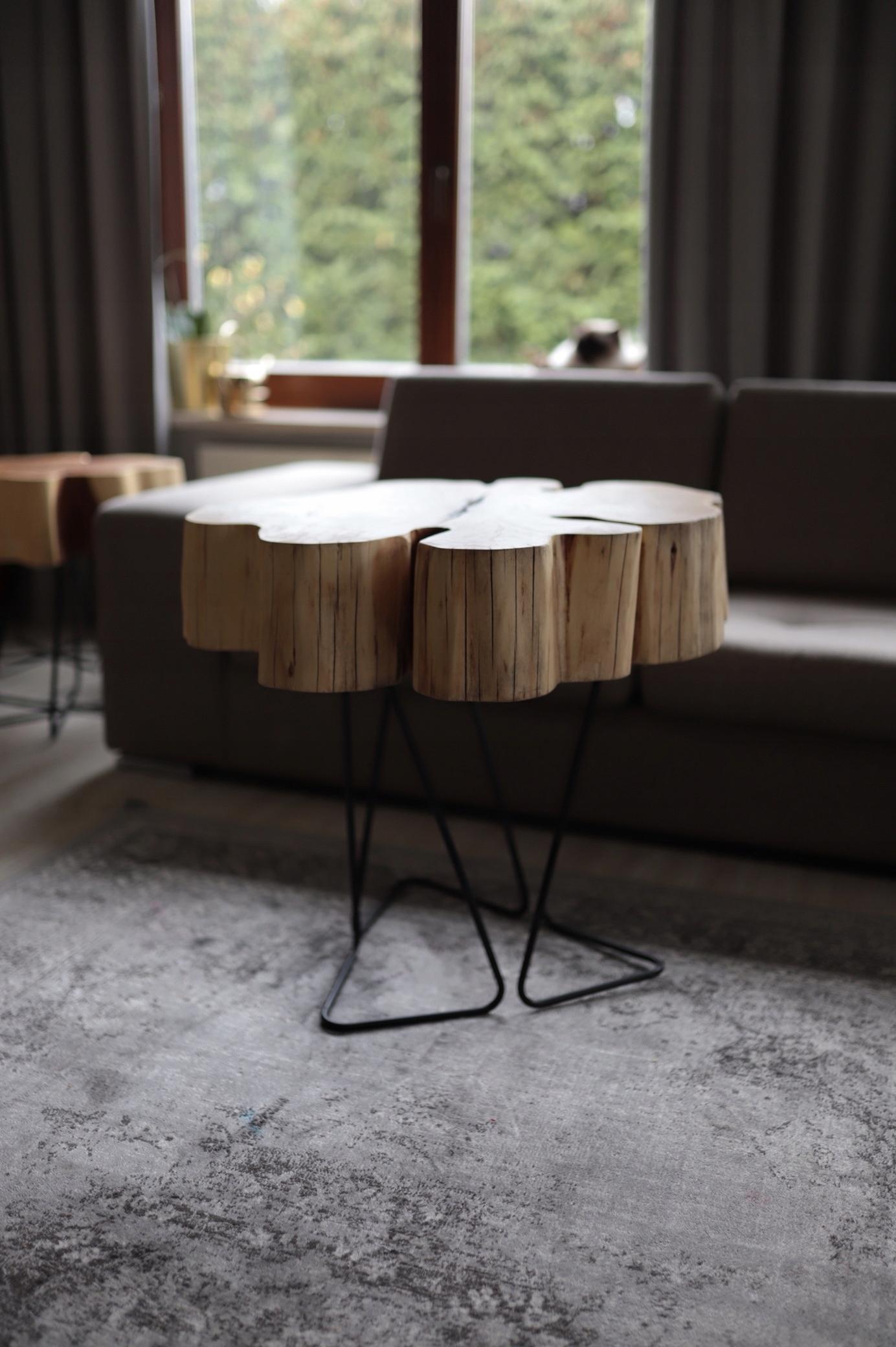 Konferenčný stolík 76A drevený stolík retro obývacia izba