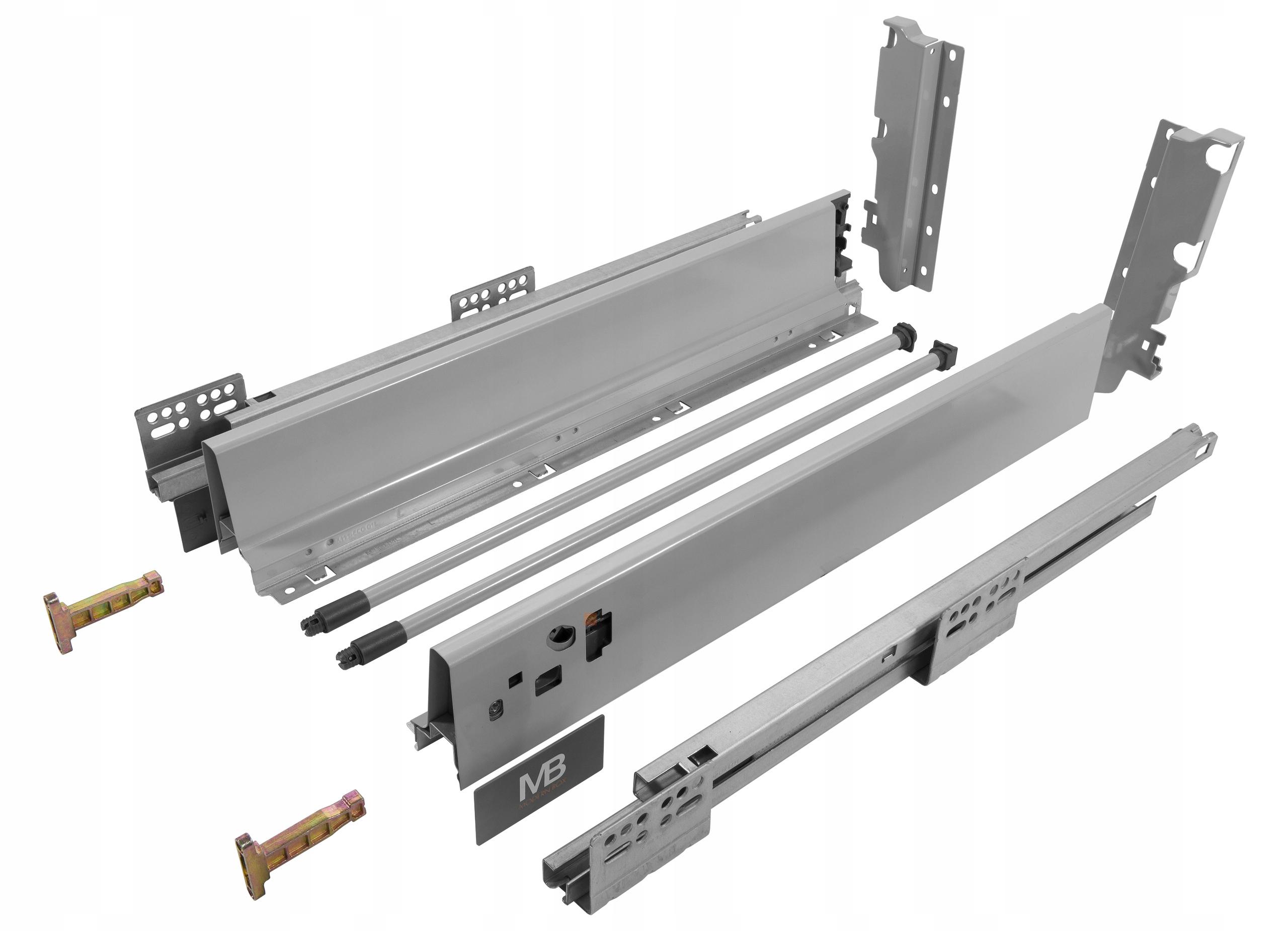 Box MODERNBOX L-500mm Vysokej GTV sivá
