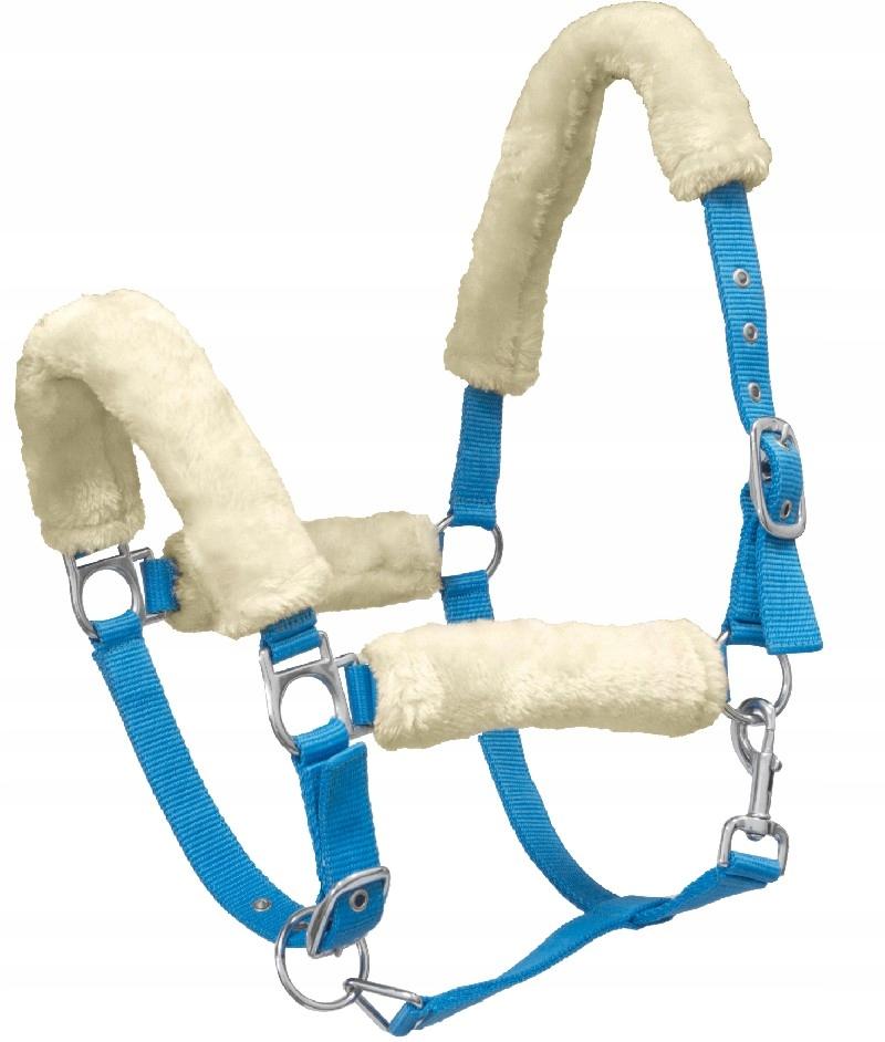 Kantar York Teddy niebieski FULL dla konia koń