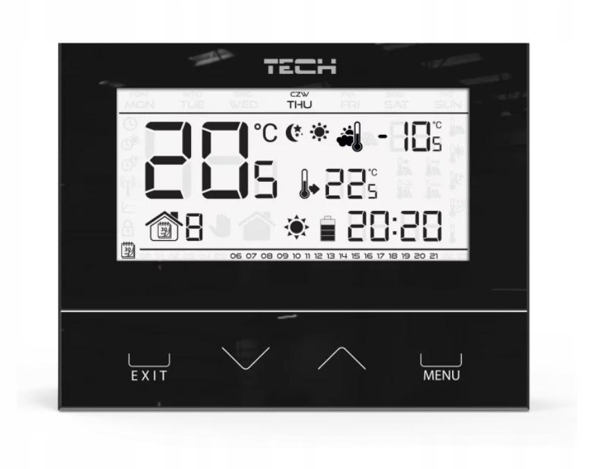 TECH ST-292 V3 Sterownik regulator pokojowy KURIER