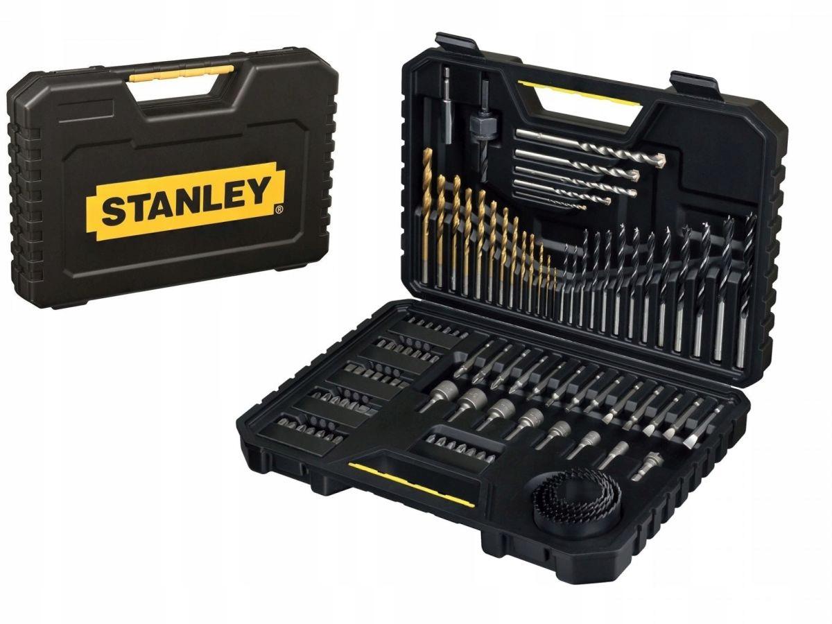 STANLEY Komplet wierteł i bitów w walizce STA7205