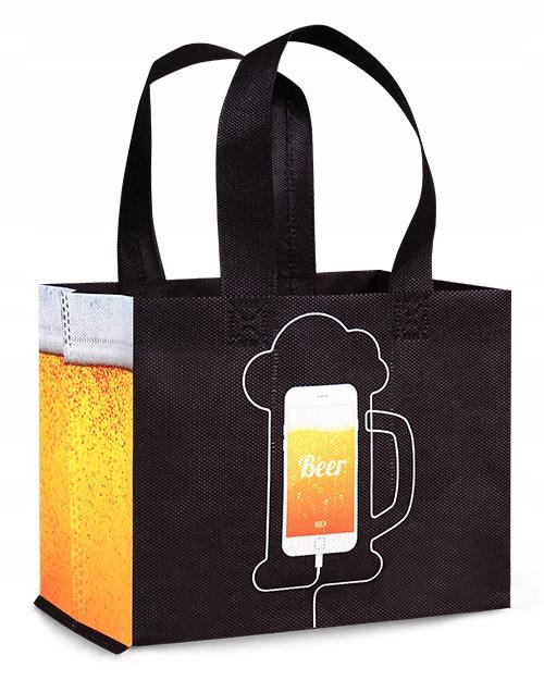 сумка пиво 6PAK prezentowa с рисунком Fabor