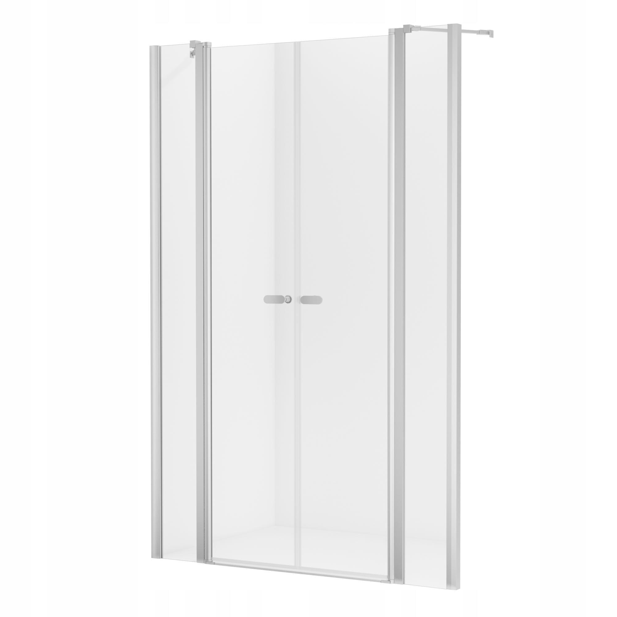 NOVINKA dvojité sprchové dvere SOLEO 140x195 cm