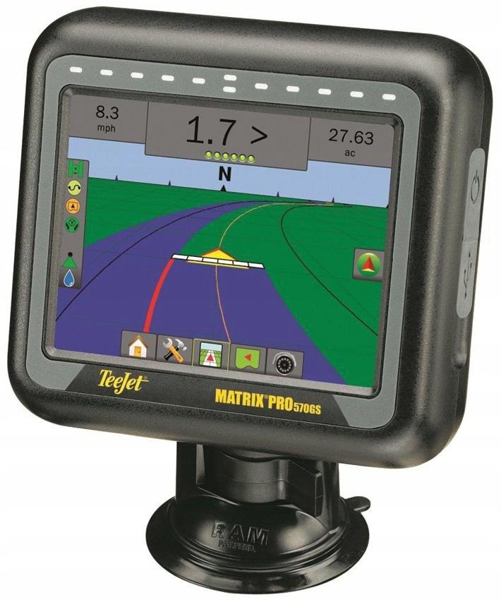 Nawigacja rolnicza GPS - MATRIX 570GS - antena RXA30 - TeeJet 8
