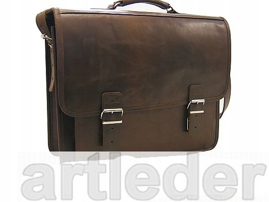Retro kožená taška LAPTOP 17 VÝROBCA