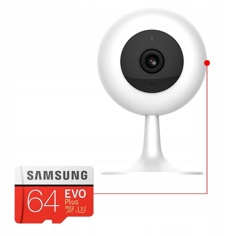 IMILAB MI HOME 1080p H.265 Kamera IP 64GB NIANIA Klasa szczelności kamery brak