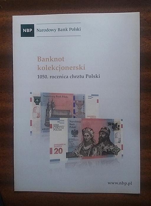 Foldery 1050 Rocznica Chrztu Polski Polski 7764143519 Allegro Pl