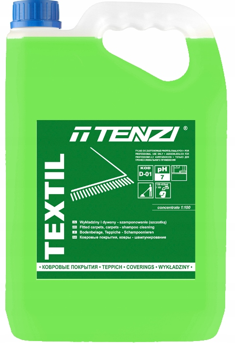 Tenzi Textil 5 Л жидкость для стирки ковра, обивки