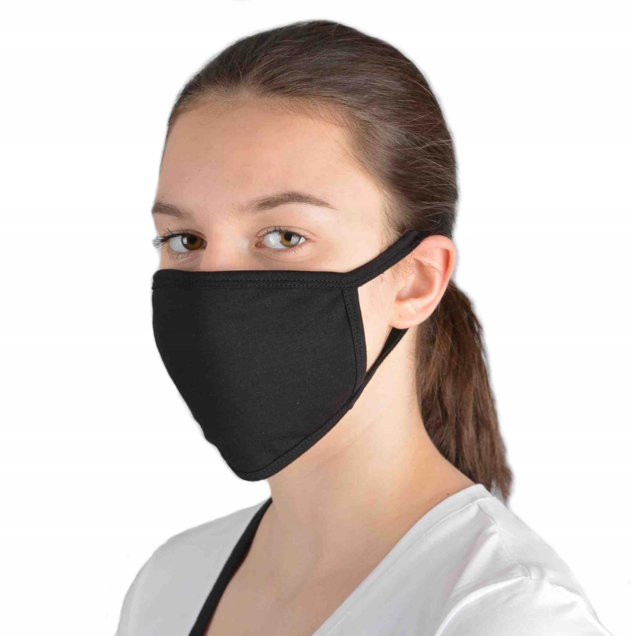 Maska Czarna Street Wear 100 % Produkt POLSKI