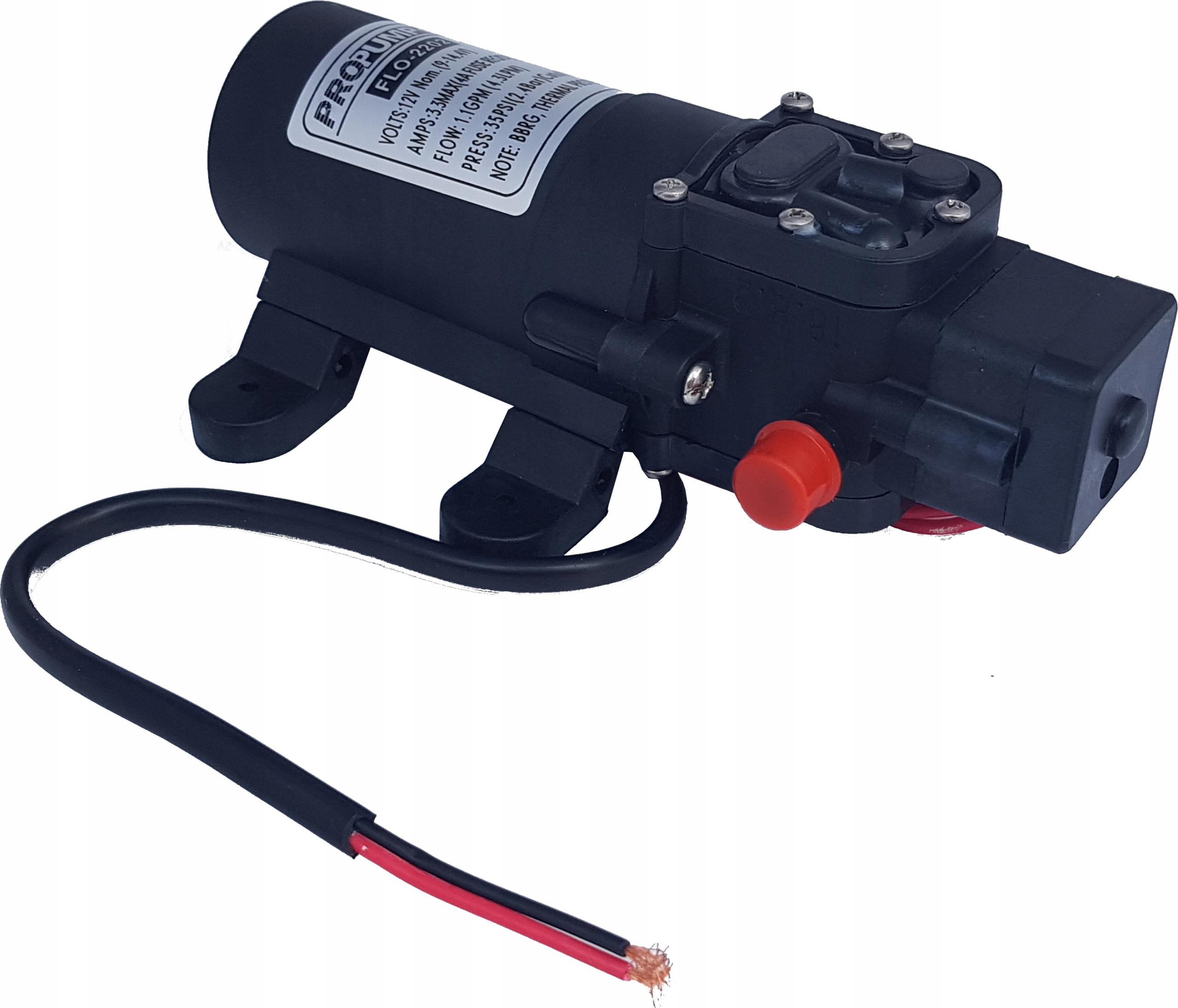 POMPA do WODY ciśnieniowa 12V 2,4 bar 4,3 L/min