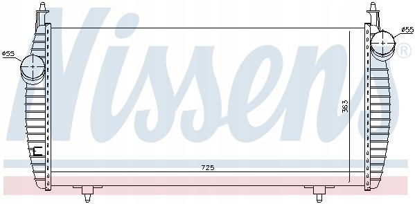 радиатор промежуточное ulysse c8 807 22hdi --40%