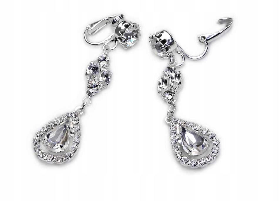 Длинные свадебные кристаллы Swarovski для свадьбы