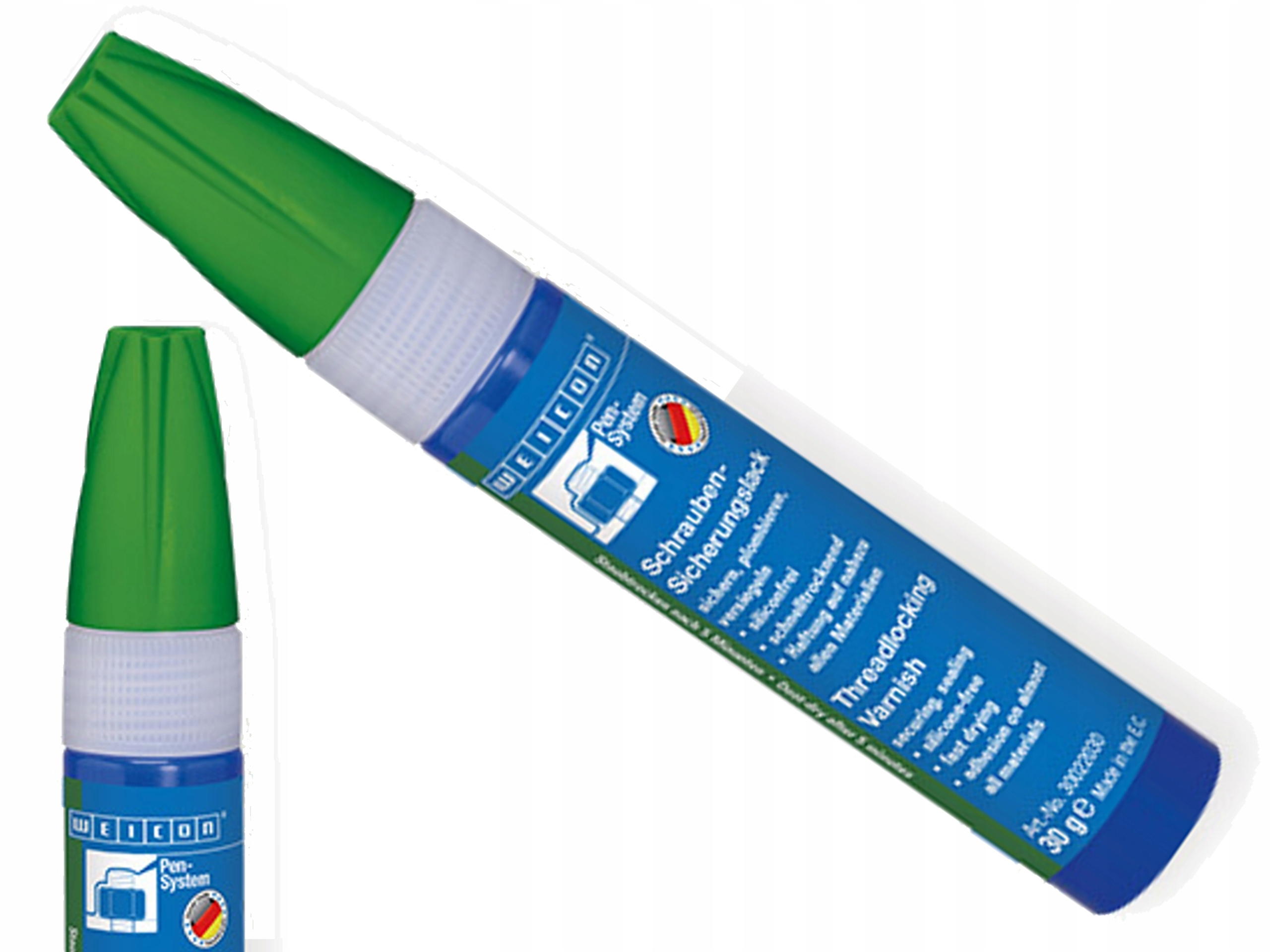 Пломба безопасности для винтов лак зеленый 30 г