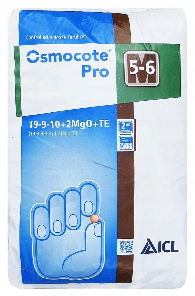 PRO OSMOCOTE 5-6M 25 kg hnojiva otoczkowany 19-9-10