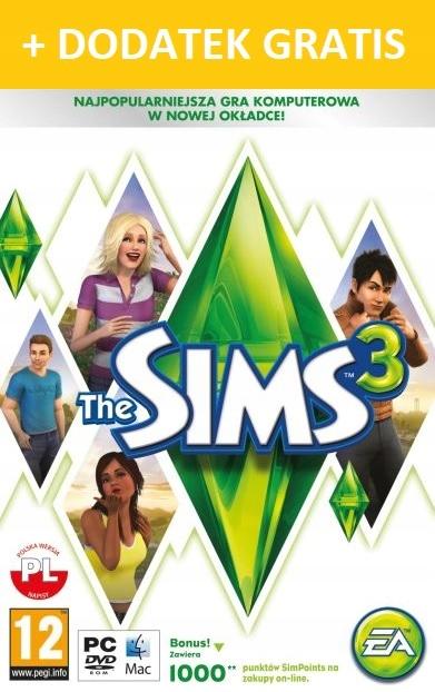 The Sims 3 Podstawa PL KOD KLUCZ CYFROWY ORIGIN