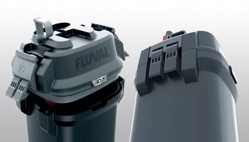Hagen FLUVAL 207 FILTR ZEWNĘTRZNY 60-220l 780l/h Szerokość 19 cm