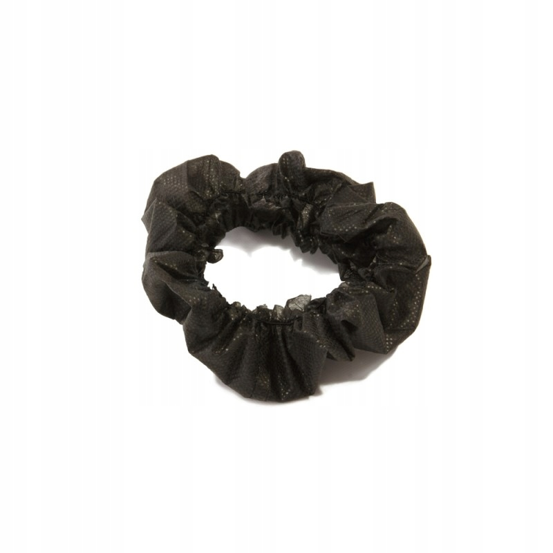 Браслеты косметические одноразовые, черные 10 шт.