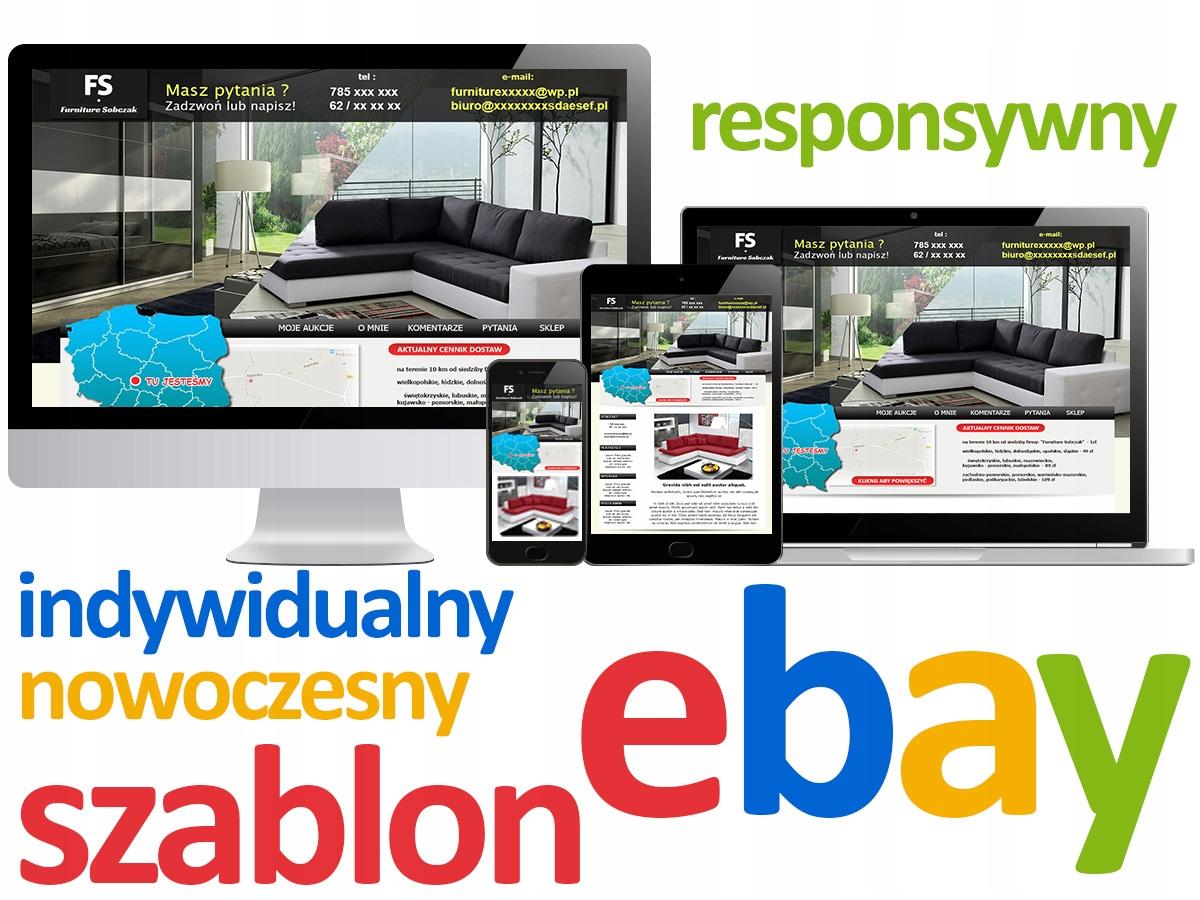 Ebay Responsywny Prof Szablon Aukcji Pl Gb De Sklep Komputerowy Allegro Pl