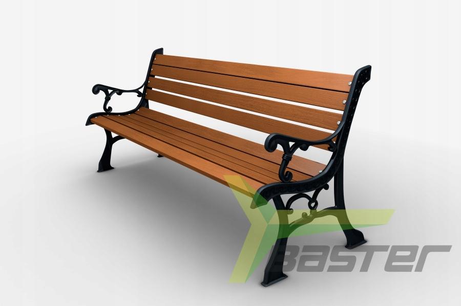 Bench liatiny záhradné terasu. 0111