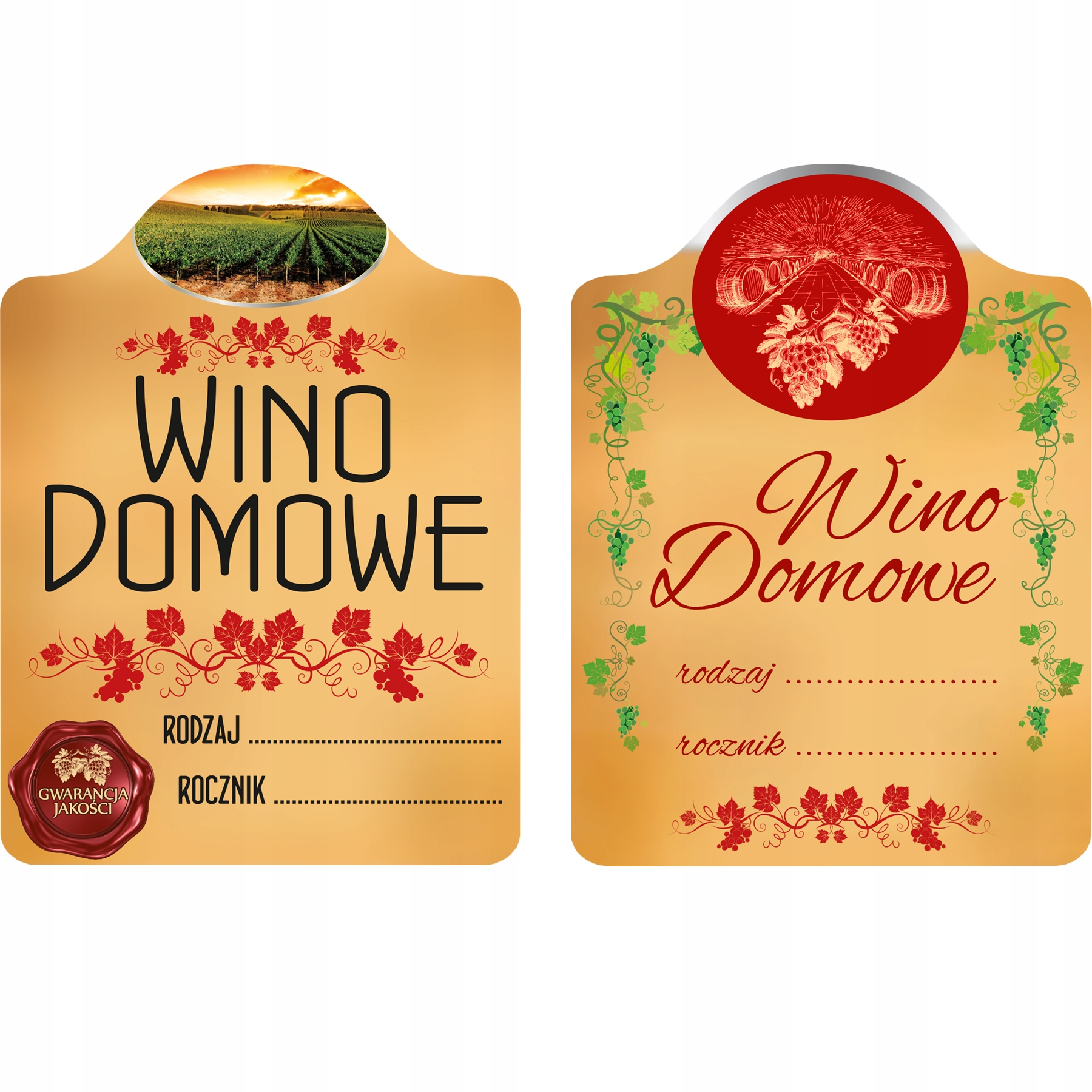 Item 20X LABELS FOR HOMEMADE WINE ALCOHOL SELF-ADHESIVE