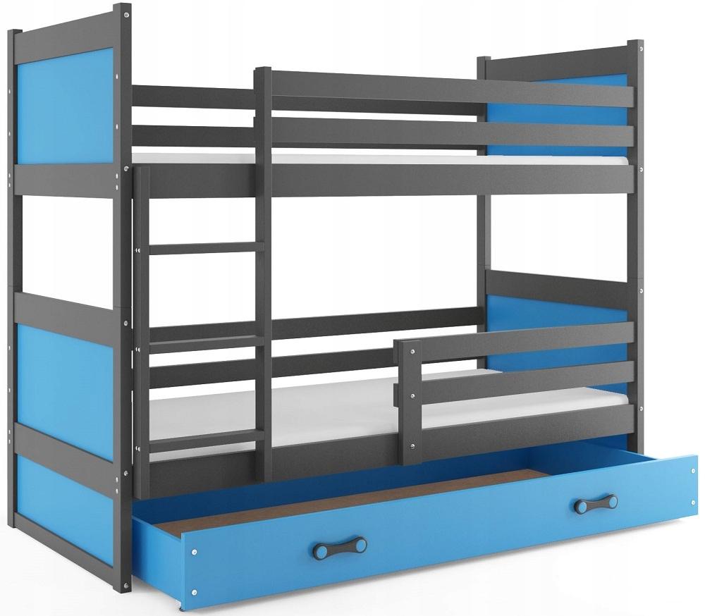Łóżko RICO piętrowe dla dzieci 160x80 i MATERACE