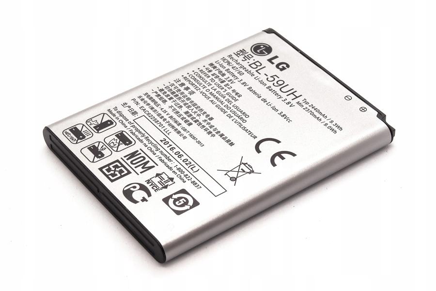 Bateria Lg BL-59UH 2440mAh | Lg G2 Mini / Lg F70