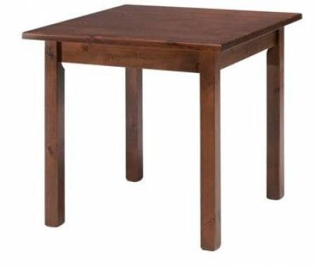 MASÍVNY drevený stôl 80x80 KVALITY FARIEB ZADARMO