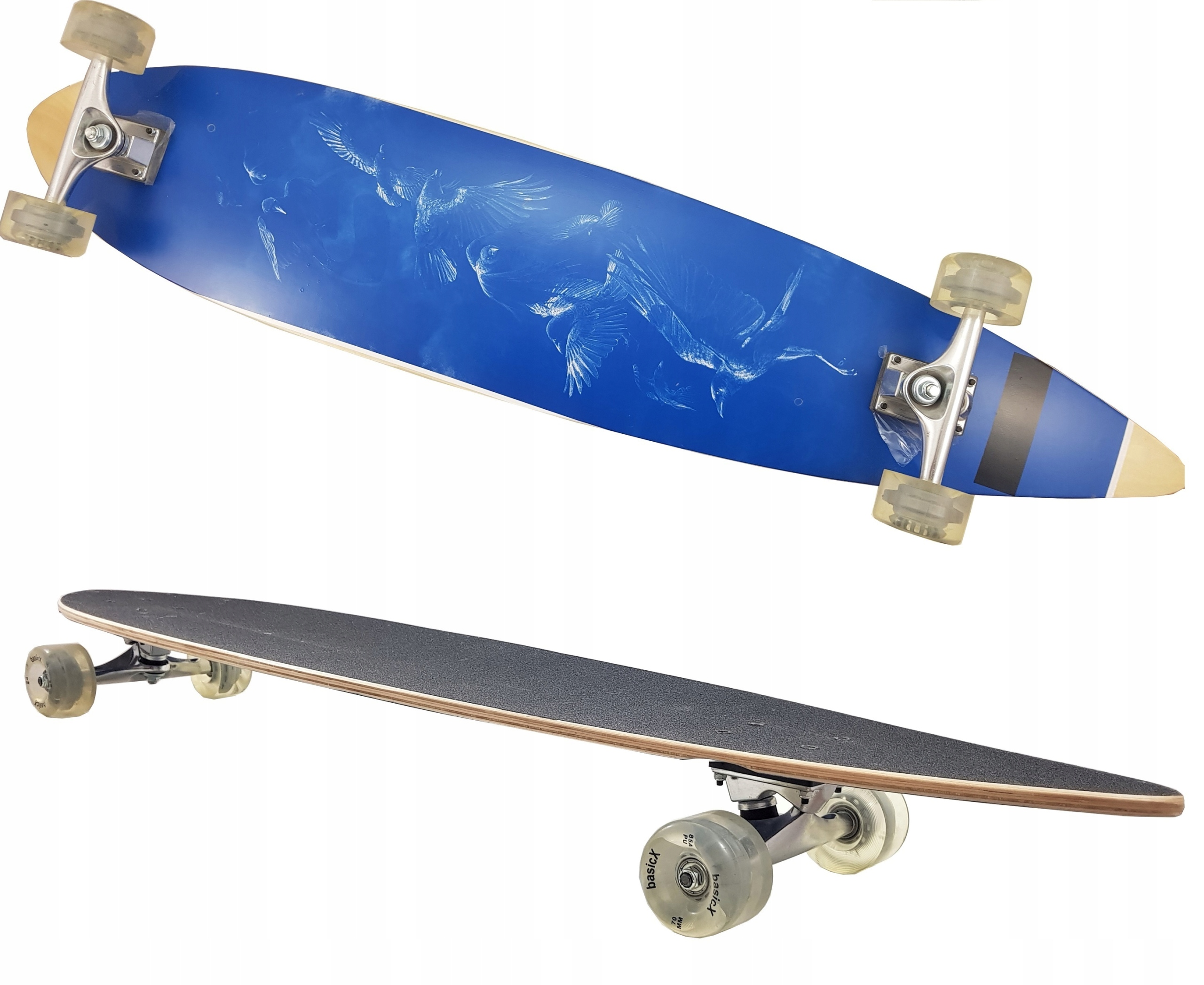 Skateboard Longboard Municipal Board PU ABEC7