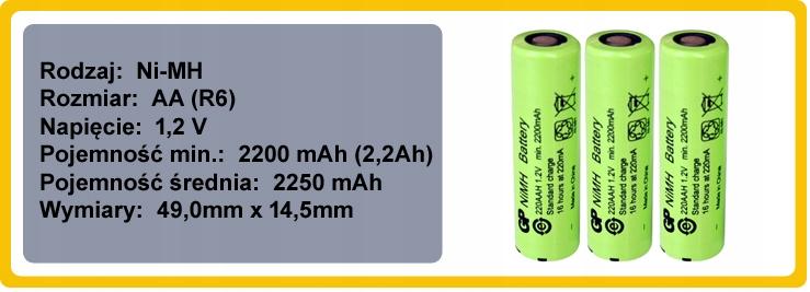 Bateria Akumulator Philips PowerPro Duo FC6162/01 Model PowerPro Duo FC6162/01; FC6162/02
