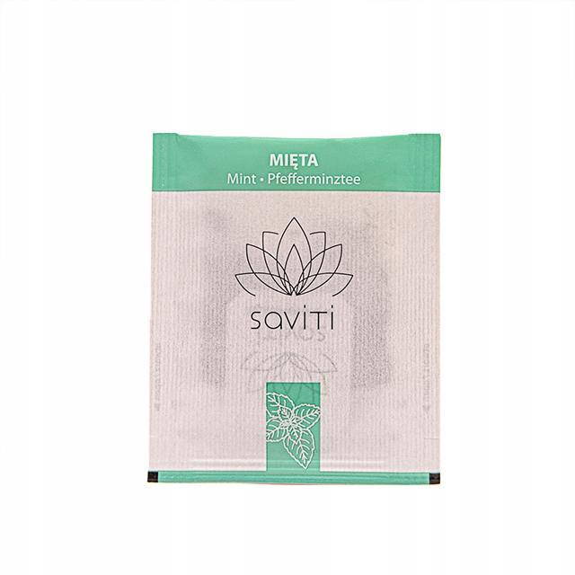 Mätový čaj mäta Saviti vrecko je 1,5-gx 500 Ks