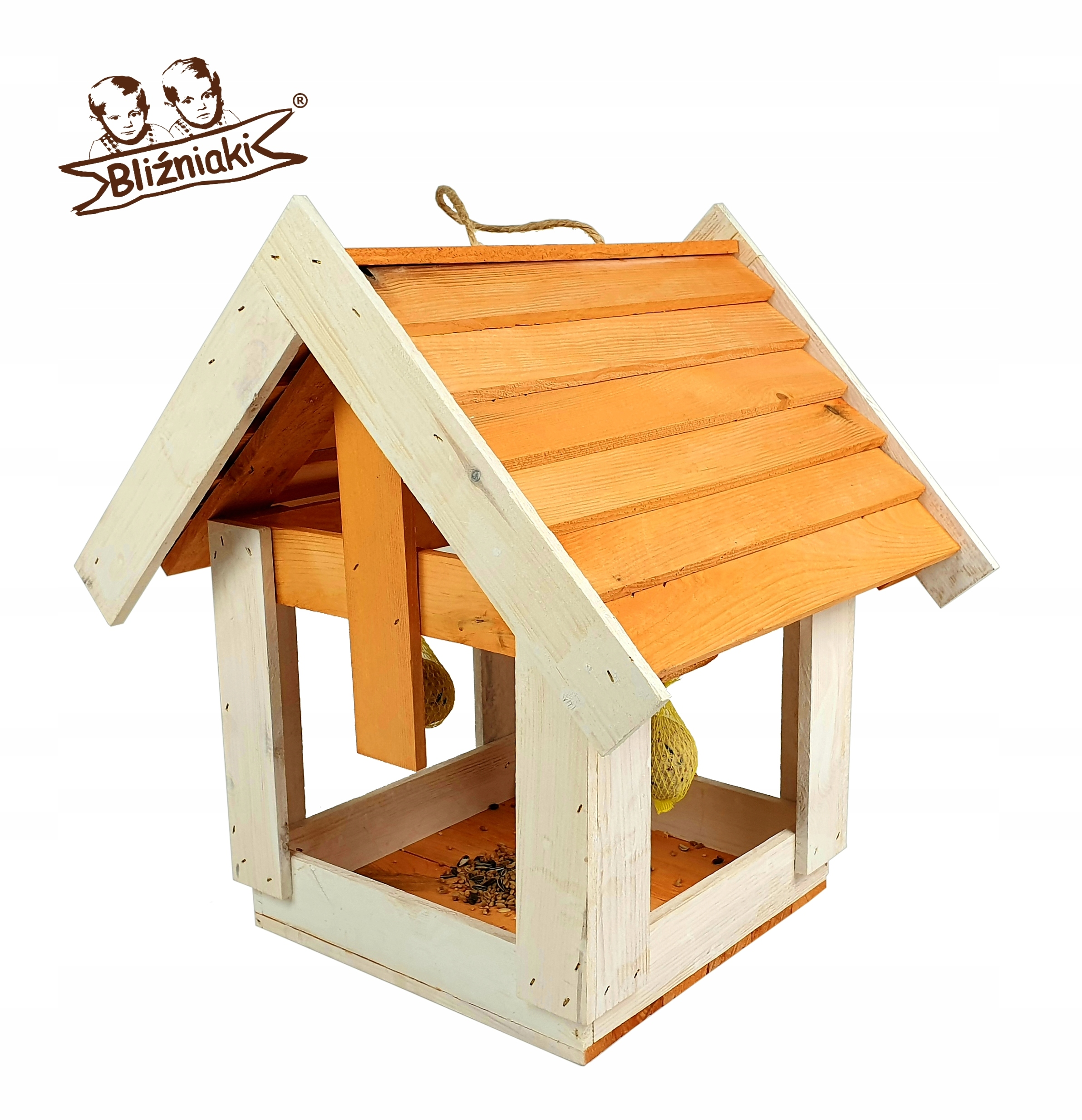 Vták feeder Visí Veľký dom Box strom