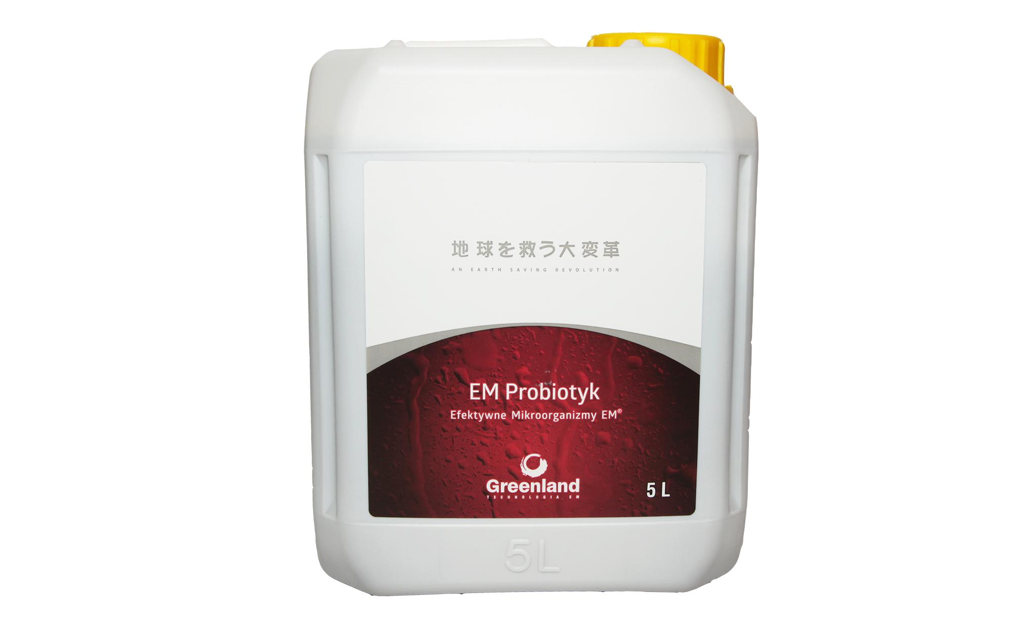 EM Пробиотик 5Л-Эффективные Микроорганизмы! KoweT
