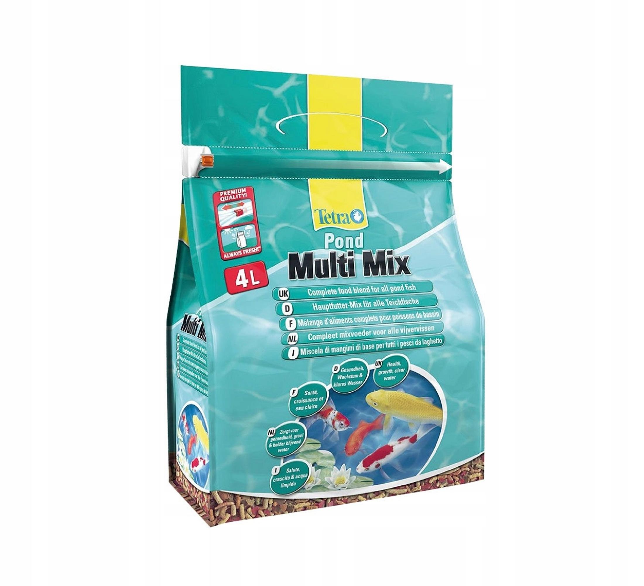 TETRA Pond Multi Mix 4L. - mieszanka pokarmów