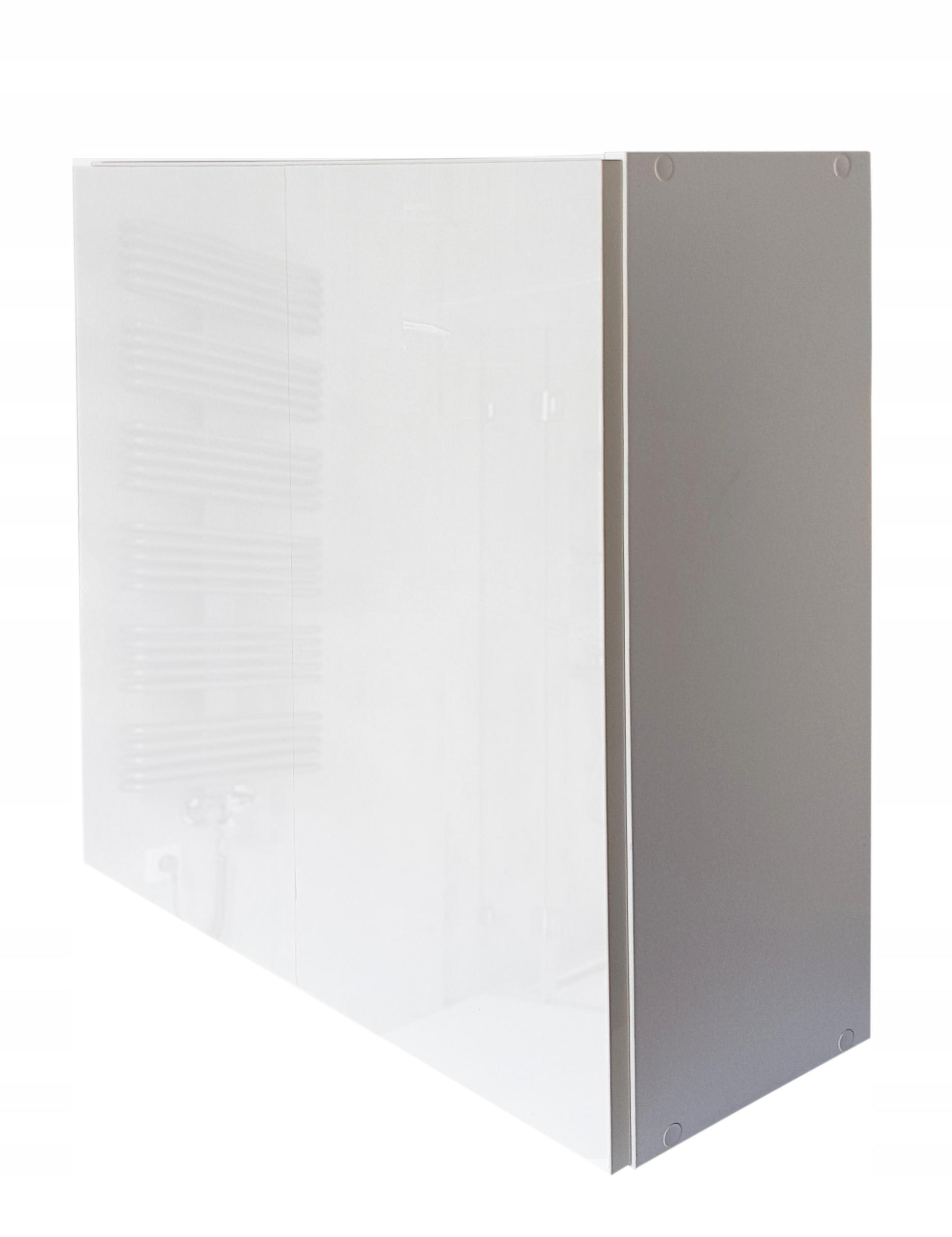 szafka łazienkowa wisząca z drzwiami na klik