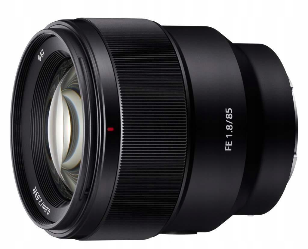 Obiektyw Sony Fe 85 mm f/1.8