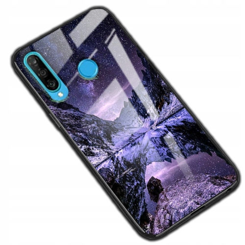 150 wz. Etui Szklane Glass Case do Huawei P30 Lite