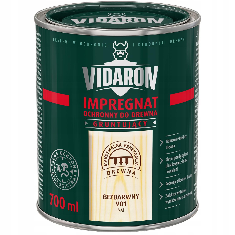 Vidaron импрегнат защитно – грунтовочный 0.7 Л