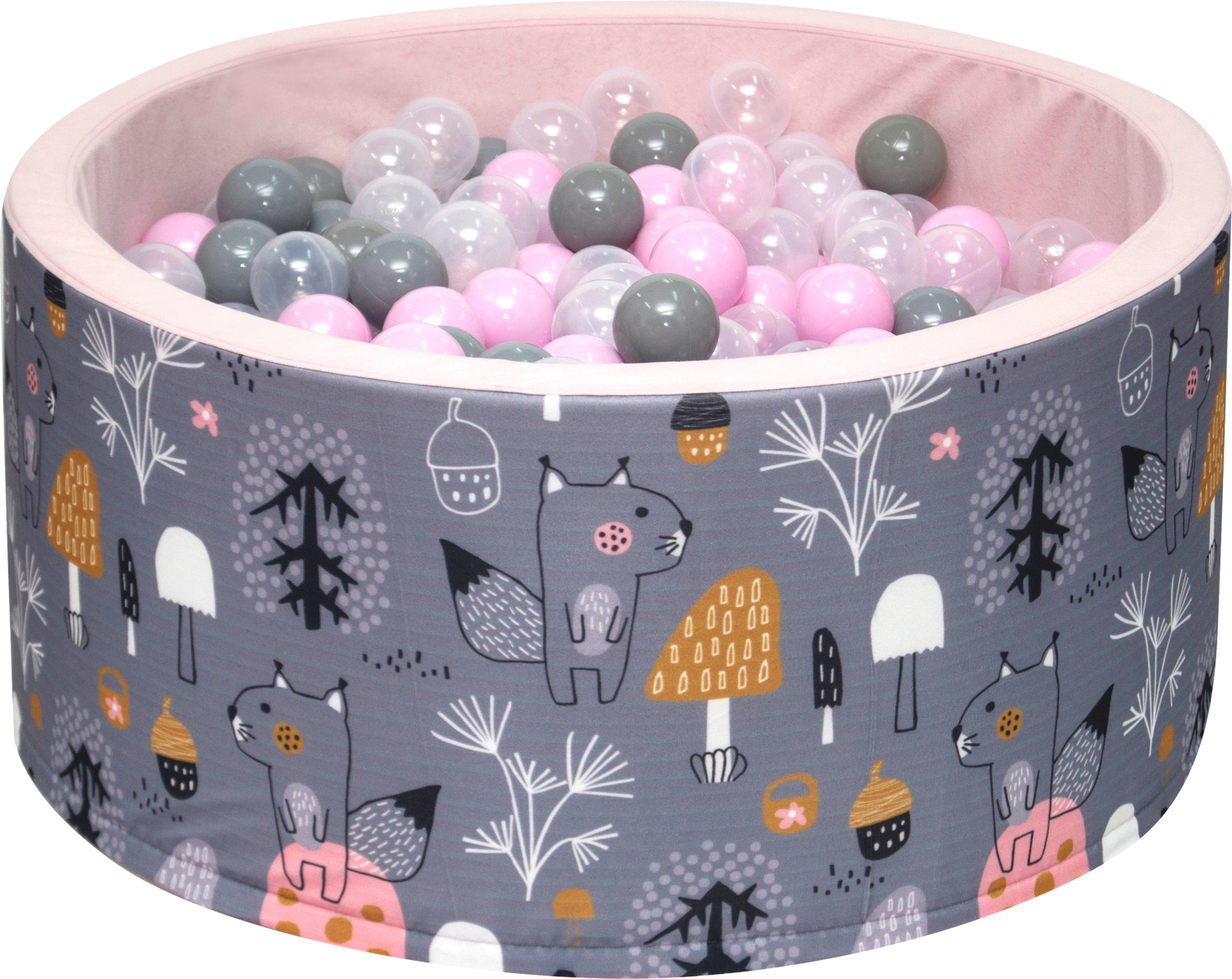 400 шаров + Dry Pool 90x40 с шарами, шары