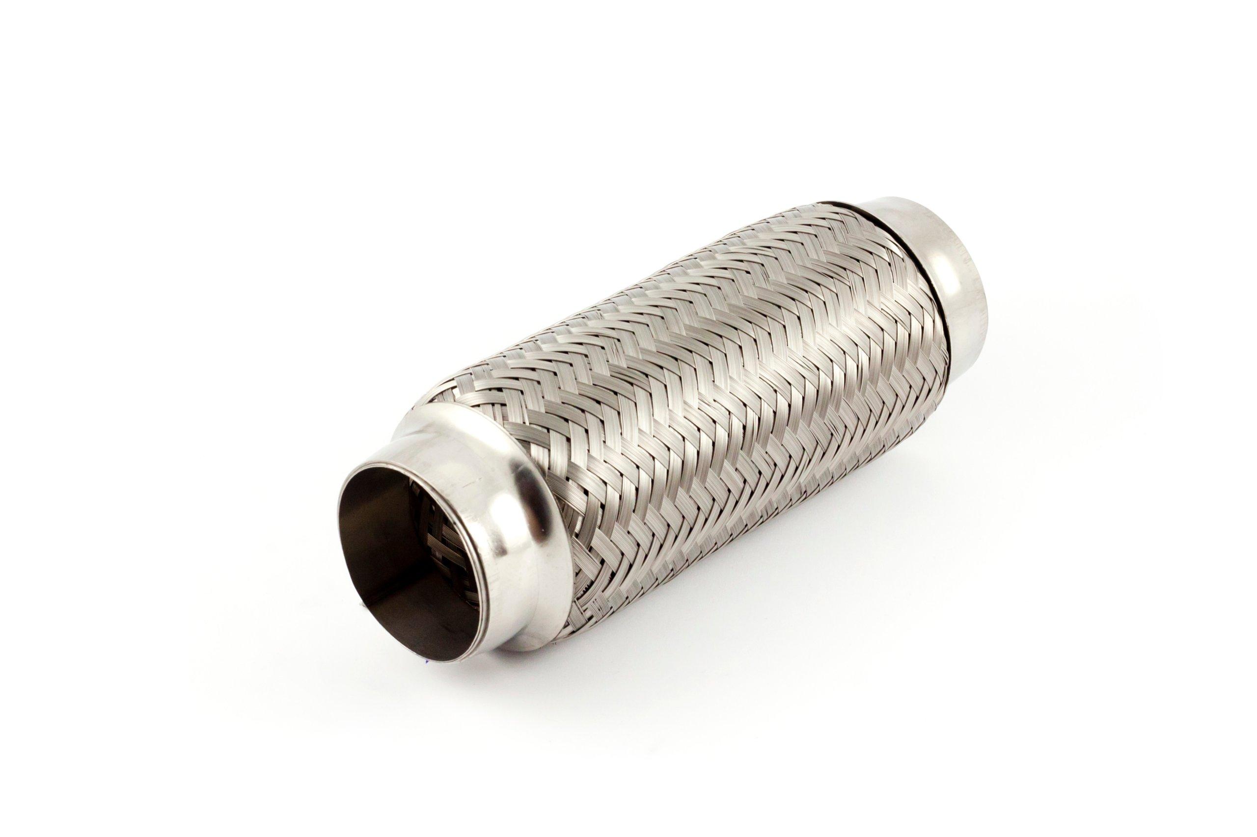 Соединитель гибкий выдохе глушитель вибрации 55x200