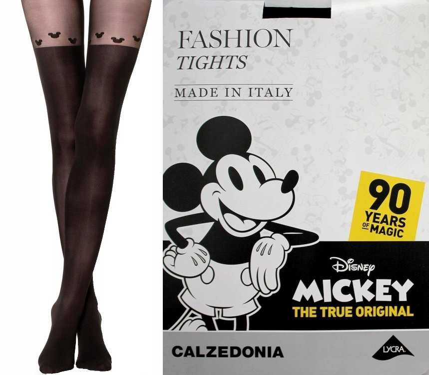 Calzedonia Rajstopy Collant Longuette Disney T.2/S