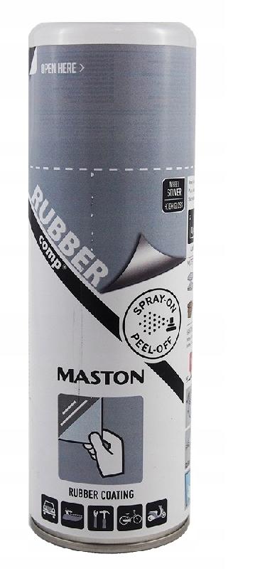 MASTON жидкая резина-спрей для дисков серый 400 мл
