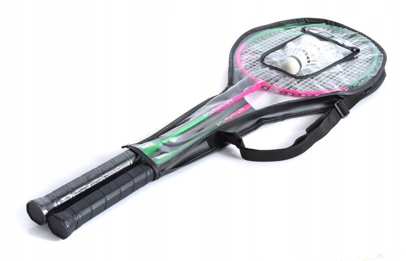 Badminton Kit 2 Racket +3 Airlines